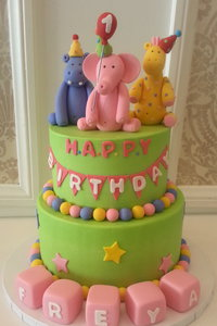 Party Animals Kids Cake