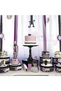 Parisian Cake Table Styled by Sweets Indeed