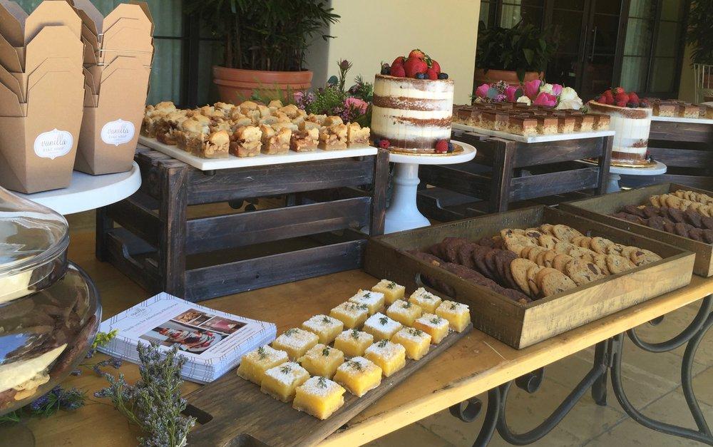 vanilla bake shop welcome