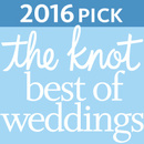 2016 The Knot Best of Weddings Award