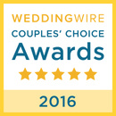 2016 Wedding Wire Couples' Choice Award