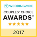 2017 Wedding Wire Couples' Choice Award
