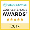 2017 Wedding Wire Couples' Choice Award