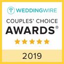 2019 Wedding Wire Couples' Choice Award