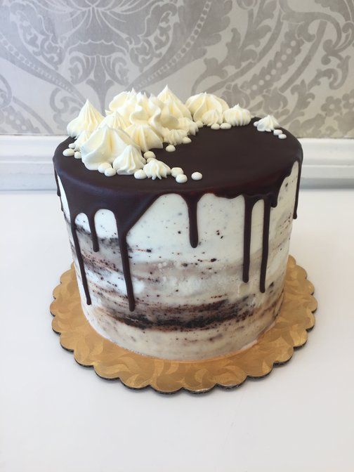 Vegan Chocolate or Vanilla Bean Cake