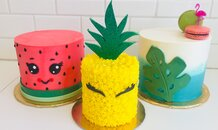 Tropical Cake Collection