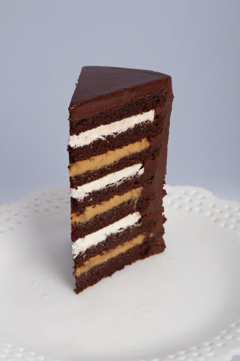 Twelve Layer Chocolate Cake